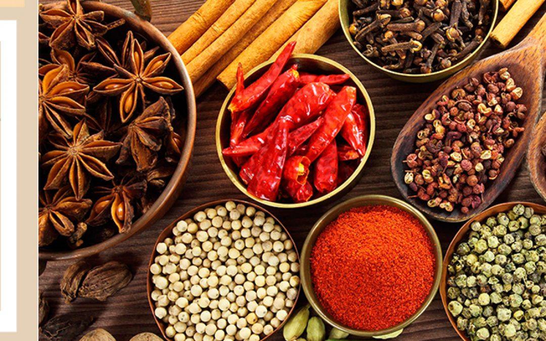 Perfume de especias: Megha Halal Cuisine.