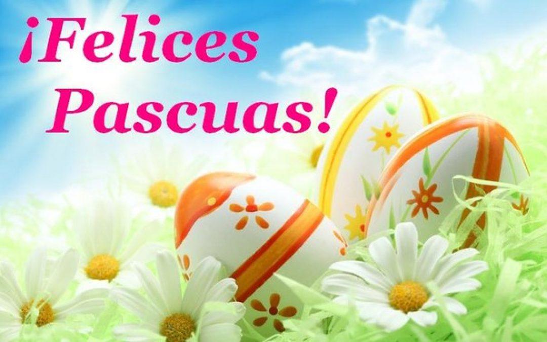 Feliz Pascua…