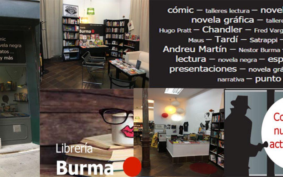 Librería Burma